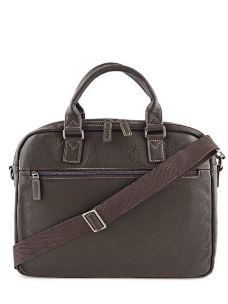 Briefcase 2 Compartments + 15'' Pc Etrier Brown flandres 69358 other view 5