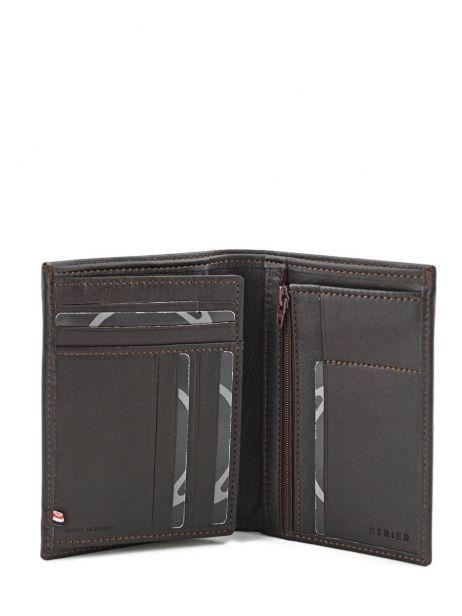 Wallet Leather Etrier Brown dakar 200271 other view 3