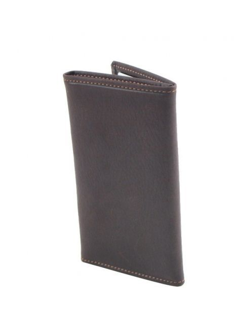 Card Holder Leather Etrier Brown oil 790930 other view 1