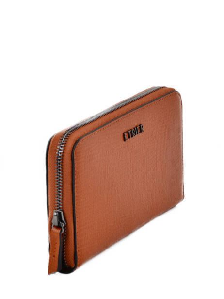 Wallet Leather Etrier Brown tess ETESS91 other view 1