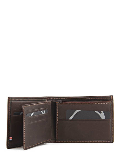 Wallet Leather Etrier Brown oil 790438 other view 2