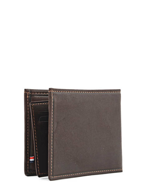 Wallet Leather Etrier Brown oil 790438 other view 1