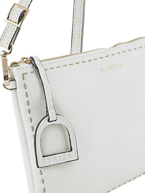 Crossbody Bag Tradition Leather Etrier White tradition EHER014 other view 1