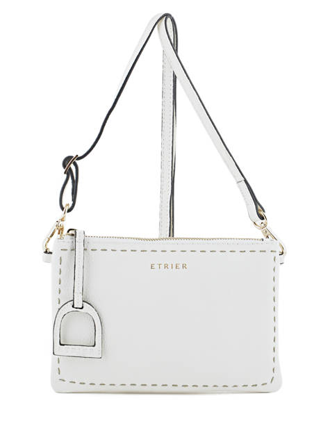 Crossbody Bag Tradition Leather Etrier White tradition EHER014