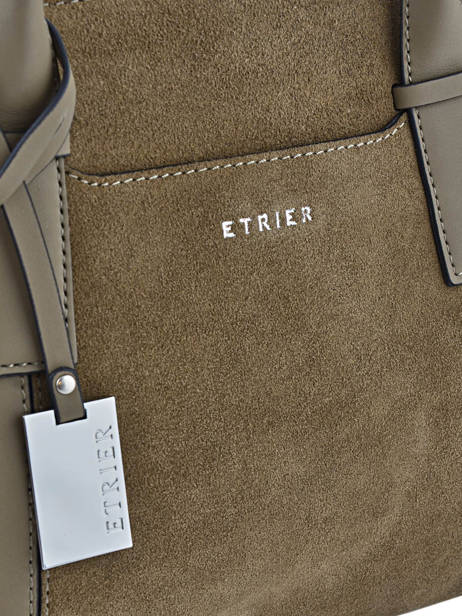 Trapeze Caleche Leather Etrier Green caleche ECAL002B other view 1