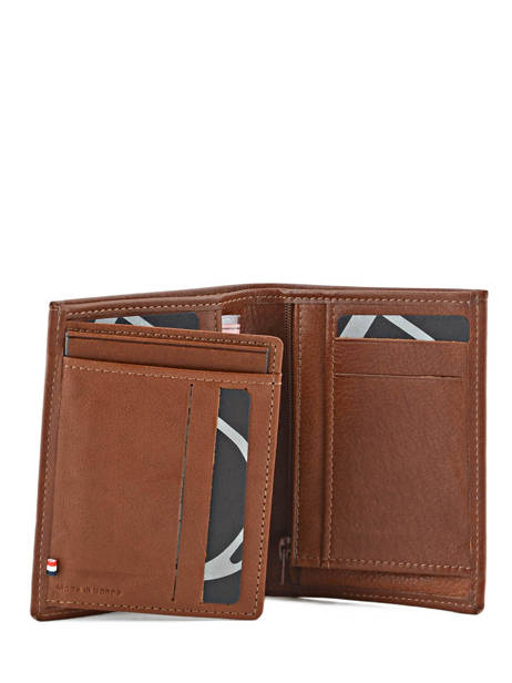 Wallet Leather Etrier Brown blanco 600142 other view 2