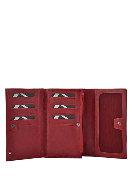 Purse Leather Etrier Red blanco 600600 other view 2