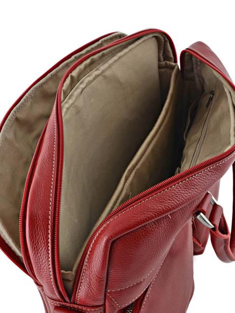 Porte-documents 2 Compartiments + Pc 15'' Etrier Rouge flandres L11548 vue secondaire 4