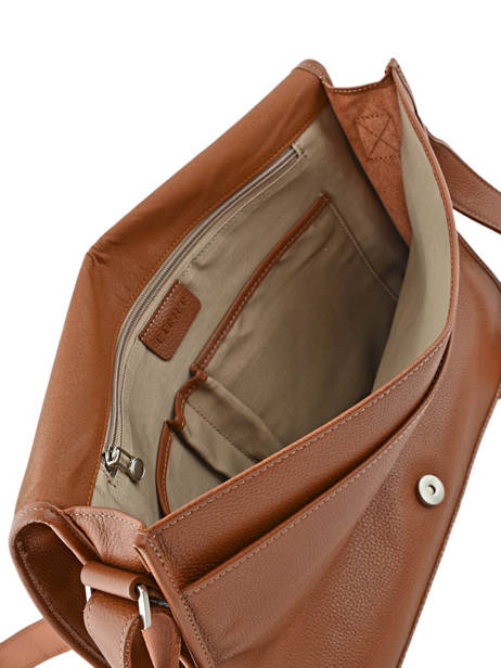 Messenger Bag 1 Compartment Etrier Brown flandres 69105 other view 4