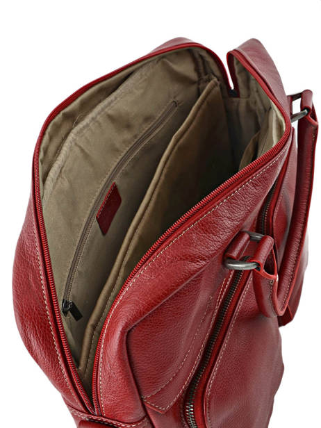 Briefcase 1 Compartment + 15'' Pc Etrier Red flandres L11756-1 other view 4