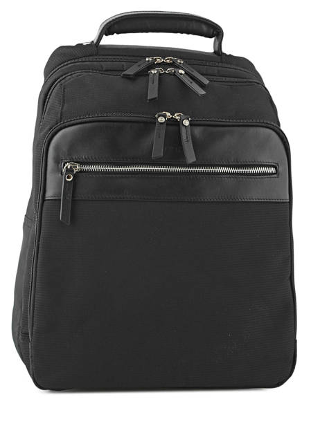 Backpack 2 Compartments + 15'' Pc Etrier Black ultra light LN117481