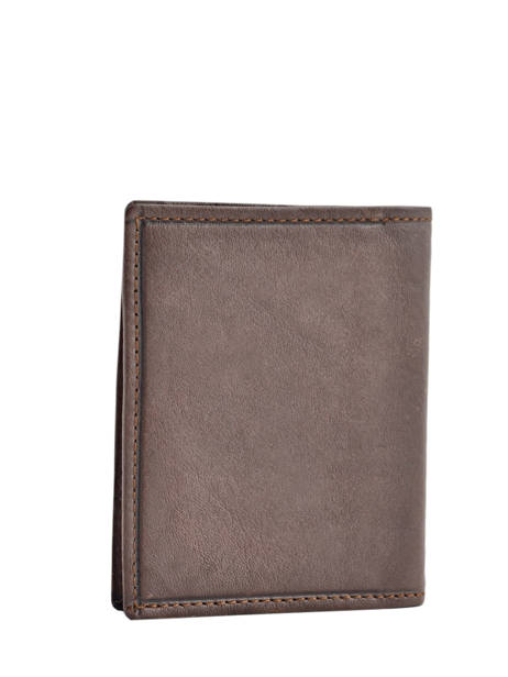 Card Holder Leather Etrier Brown blanco 600021 other view 1