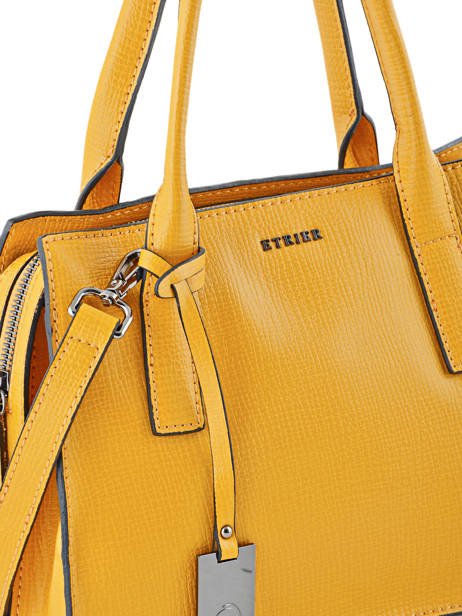 Top Handle Tess Leather Etrier Yellow tess ETESS01 other view 1