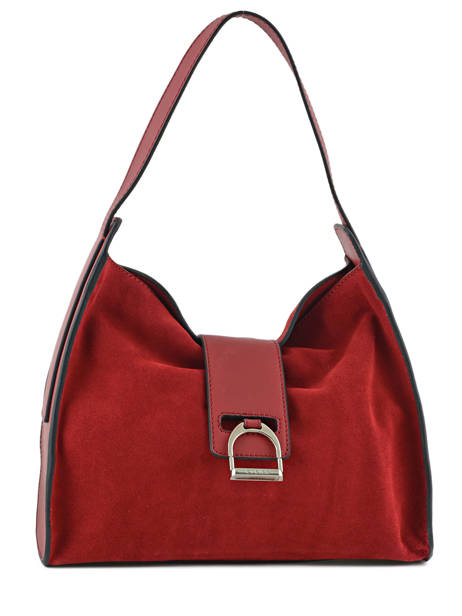 Hobo Bag Caleche Leather Etrier Red caleche ECAL006B