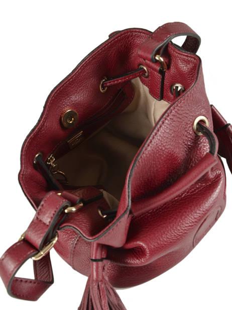 Crossbody Bag Etrier Red paris EPAR13 other view 4