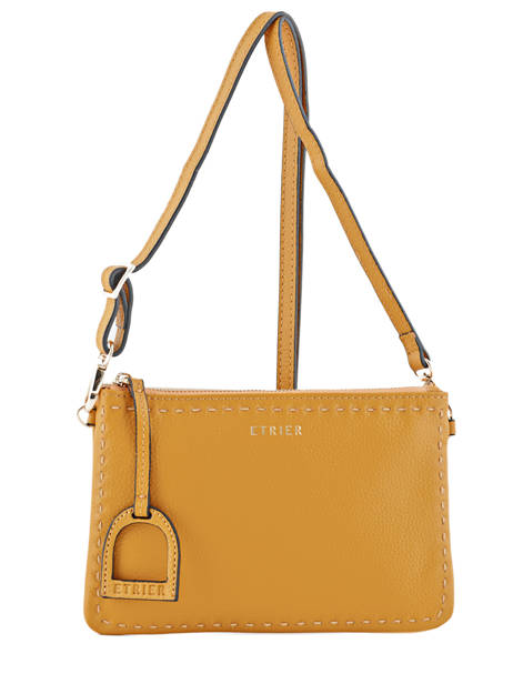 Crossbody Bag Tradition Leather Etrier Yellow tradition EHER014