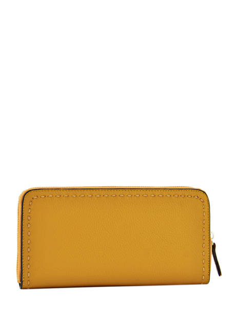 Wallet Leather Etrier Yellow tradition EHER901 other view 1