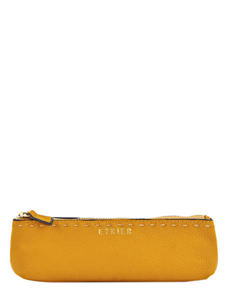 Case Leather Etrier Yellow tradition EHER903