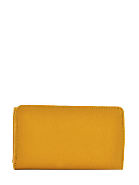 Wallet Leather Etrier Yellow tradition EHER905 other view 1
