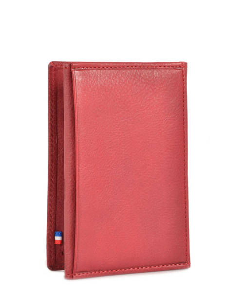 Wallet Leather Etrier Red blanco 600024 other view 2