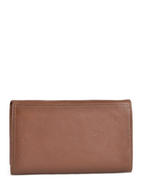 Purse Leather Etrier Brown blanco 600600 other view 3