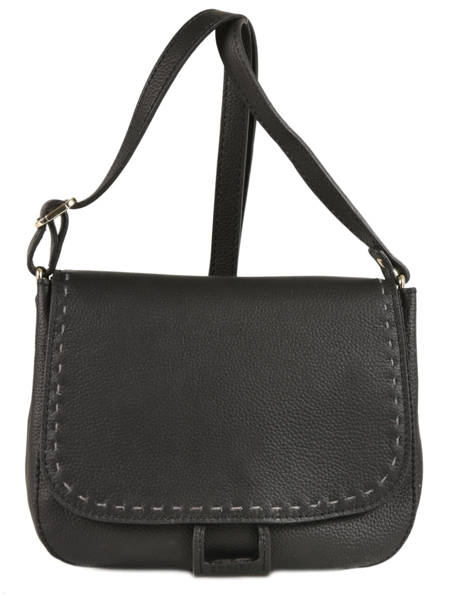 Crossbody Bag Tradition Leather Etrier Black tradition EHER023