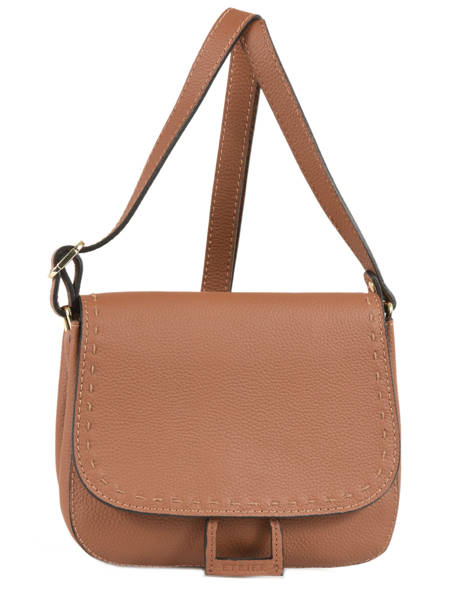 Shoulder Bag Tradition Leather Etrier Brown tradition EHER022