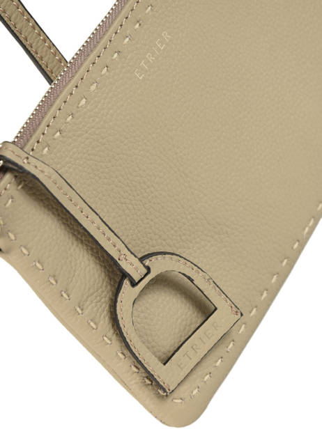 Crossbody Bag Tradition Leather Etrier Beige tradition EHER014 other view 1