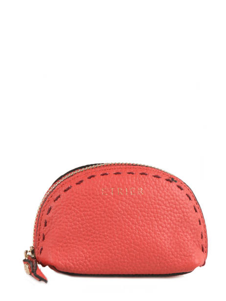Purse Leather Etrier Pink tradition EHER902