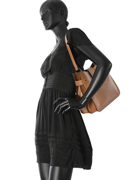 Shoulder Bag Tess Leather Etrier Brown tess ETESS08 other view 2
