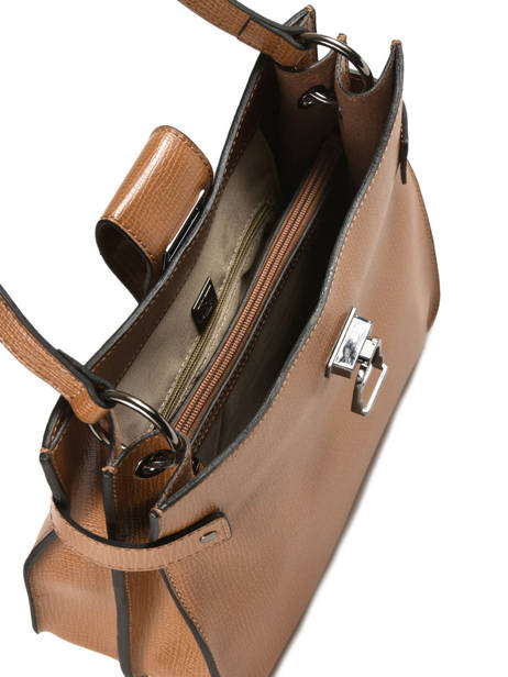 Shoulder Bag Tess Leather Etrier Brown tess ETESS08 other view 4