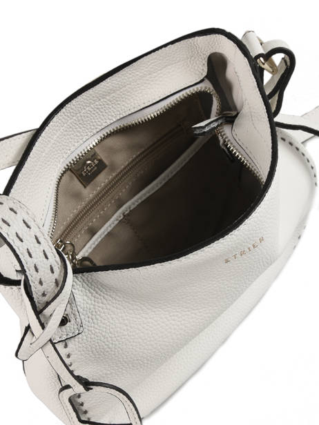 Crossbody Bag Tradition Leather Etrier White tradition EHER003A other view 4