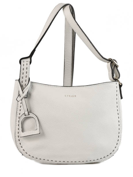 Crossbody Bag Tradition Leather Etrier White tradition EHER003A
