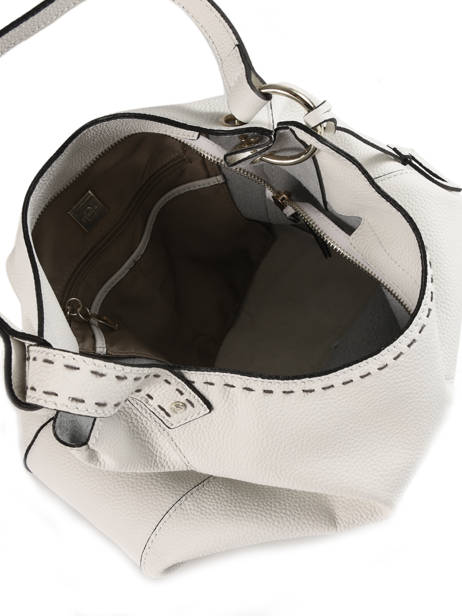 Hobo Bag Tradition Leather Etrier White tradition EHER021 other view 5