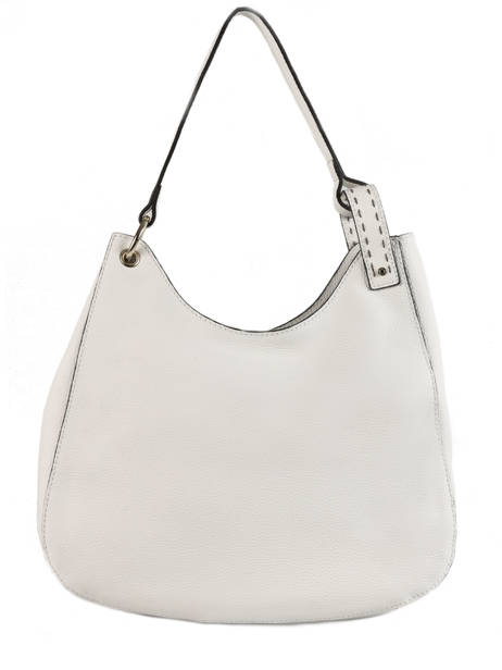 Hobo Bag Tradition Leather Etrier White tradition EHER021 other view 4