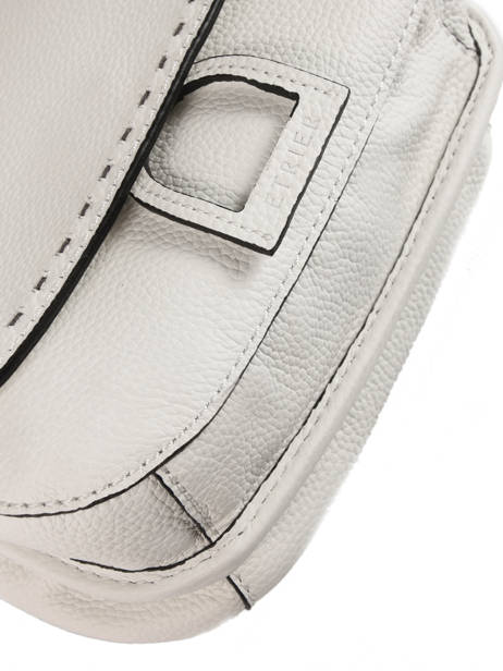 Shoulder Bag Tradition Leather Etrier White tradition EHER022 other view 1