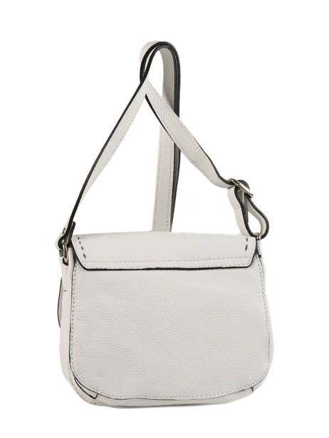 Shoulder Bag Tradition Leather Etrier White tradition EHER022 other view 3