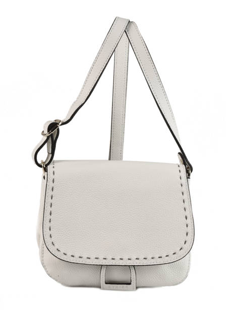 Shoulder Bag Tradition Leather Etrier White tradition EHER022