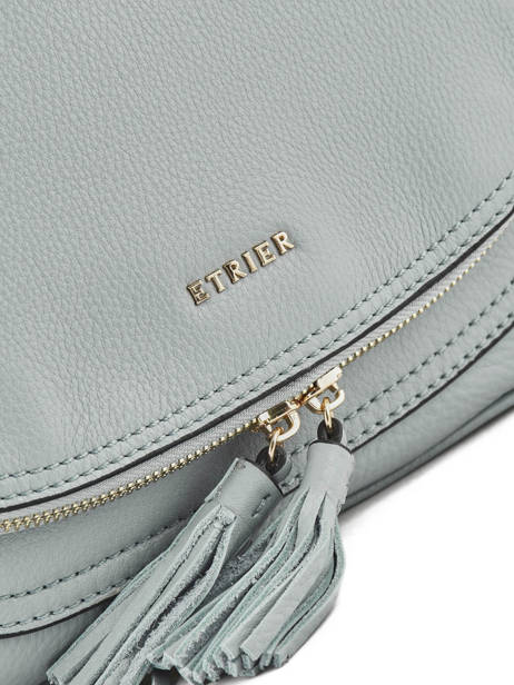 Shoulder Bag Paris Leather Etrier Blue paris EPAR04 other view 1