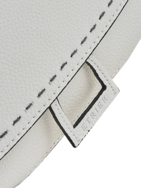 Crossbody Bag Tradition Leather Etrier White tradition EHER023 other view 1