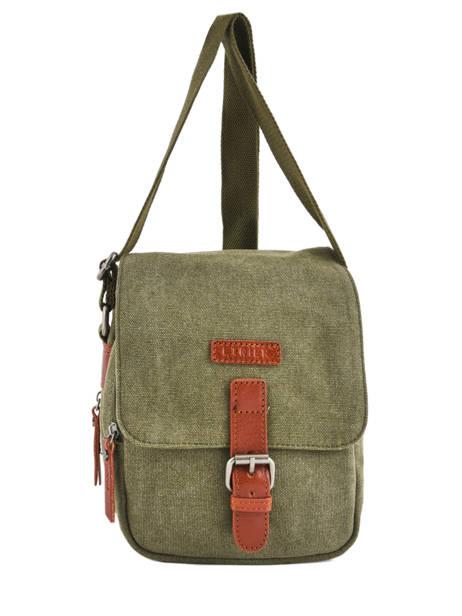 Crossbody Bag Etrier Green canvas 6585