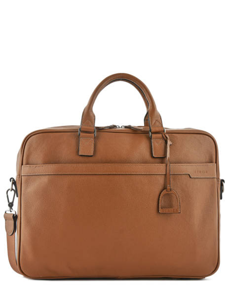Briefcase 1 Compartment + 17'' Pc Etrier Brown flandres 69356B
