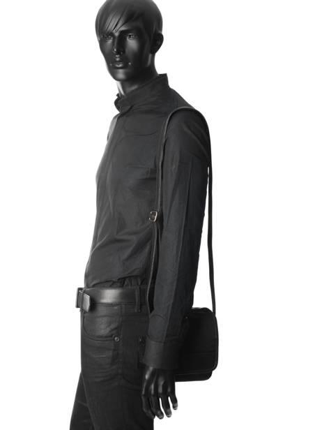 Crossbody Bag Etrier Black ultra light LN2302 other view 2