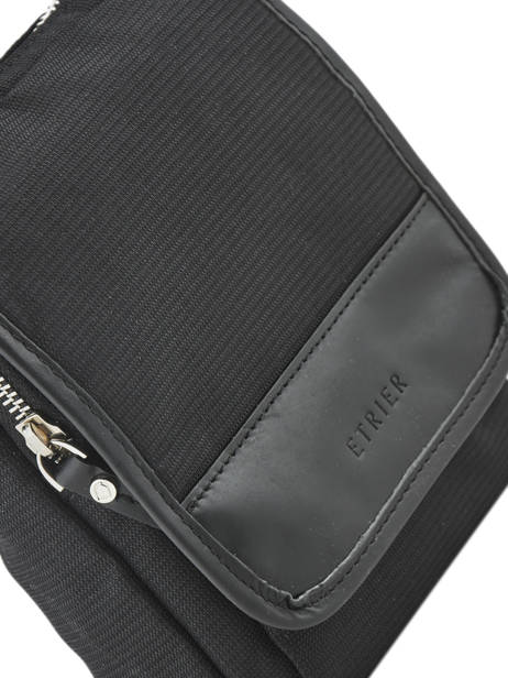 Crossbody Bag Etrier Black ultra light LN2302 other view 1