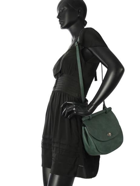 Shoulder Bag Casac Leather Etrier Green casac ECAS01 other view 2