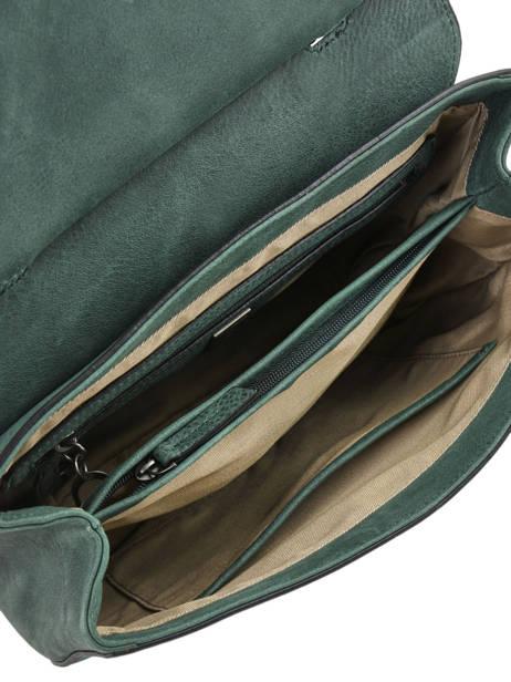 Shoulder Bag Casac Leather Etrier Green casac ECAS01 other view 5