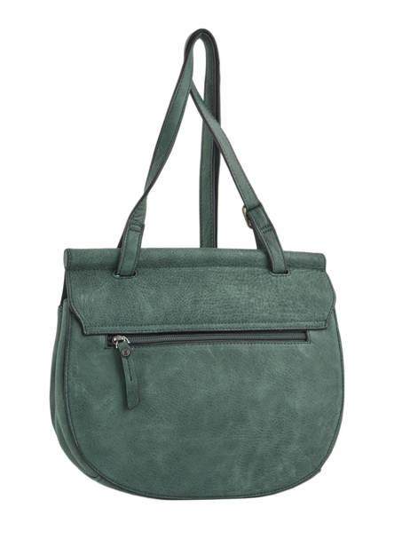 Shoulder Bag Casac Leather Etrier Green casac ECAS01 other view 4