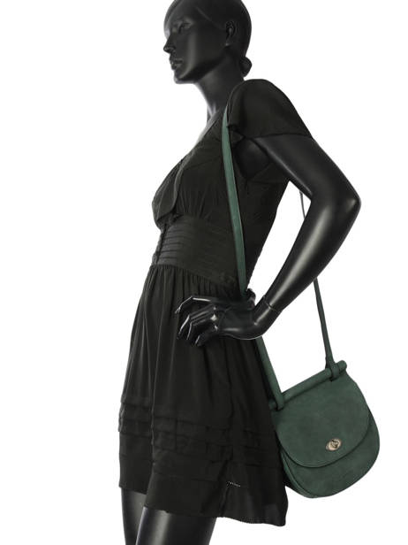 Shoulder Bag Casac Leather Etrier Green casac ECAS02 other view 2