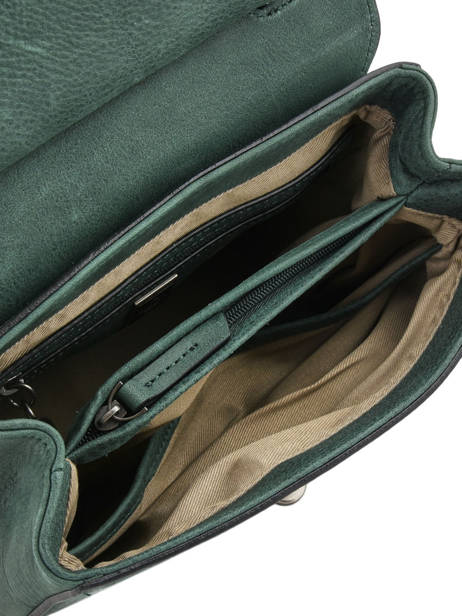 Shoulder Bag Casac Leather Etrier Green casac ECAS02 other view 5
