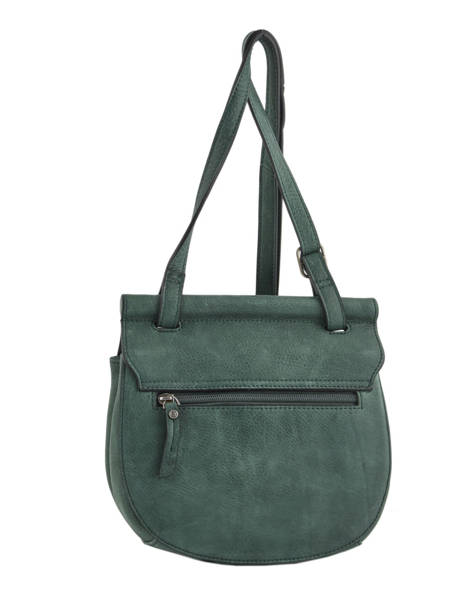 Shoulder Bag Casac Leather Etrier Green casac ECAS02 other view 4